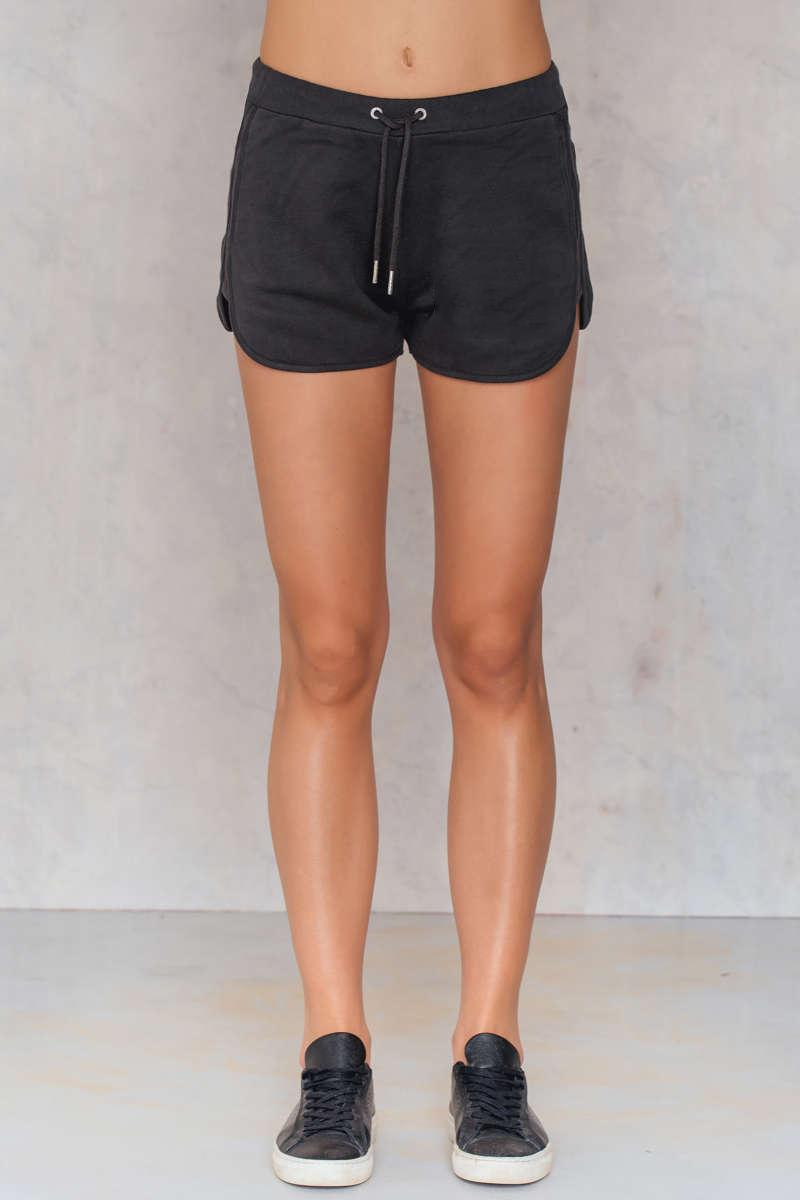 sweat shorts girl